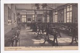 CP 08 SEDAN College Turenne Section Industrielle Atelier Du Fer - Sedan