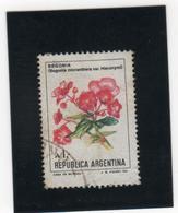 ARGENTINE     1980-89  Y. T. N° 1480  Oblitéré - Argentina