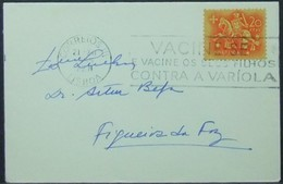 Portugal - Cover Lot (2) 1955 Smallpox Vacination On Cancel - Cartas
