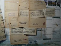 LOT DE 4 FACTURES DES LABORATOIRES CHOAY. 1948 46 ET 48 AVENUE THEOPHILE GAUTHIER A PARIS 16. ADRESSES A LA PHARMACIE L - Droguerie & Parfumerie