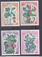 Saint Pierre Et Miquelon  401 404 Fleurs  Neuf ** MNH Sin Charmela Cote 12.5 - St.Pierre & Miquelon