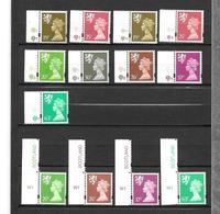 GB Regionals  - Scotland  Part 2 - 12 Stamps With Cylinder Nrs - Schottland