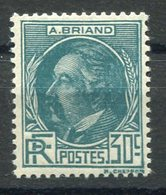 RC 15365 FRANCE N° 291 - ARISTIDE BRIAND COTE 42€ NEUF ** MNH - Frankreich