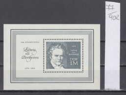 90K77 / 1970 - Michel Nr. Block 33 ( ** ) Ludwig Van Beethoven Composer , DDR , Germany Deutschland Allemagne - Blocchi