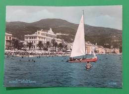 Cartolina Riviera Dei Fiori - Alassio - Grand Hotel - 1964 - Savona