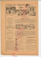 2 Scans Presse 1889 Humour Fête Des Rois Pour Qui Cette Part Galette ? Métier Boucher Chien Lévrier ? Bouledogue 226CH28 - Vieux Papiers
