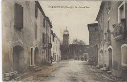 CLARENSAC    LA GRANDE RUE - France