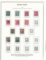 55442 ) Collection USA 1894 - Sammlungen