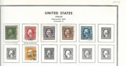 55445 ) Collection USA 1908 -09 - Sammlungen