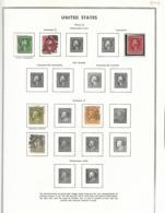 55447 ) Collection USA 1912 -14 - Sammlungen