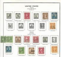 55454 ) Collection USA 1923 -26 - Sammlungen