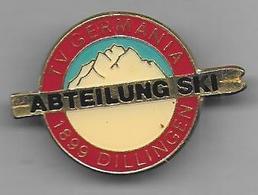 Allemagne - Insigne Abteilug Ski  Dillingen TV Germania - Sports D'hiver