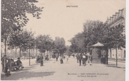 Bv - Cpa LORIENT - Promenade Du Cours Des Quais (MTIL) - Lorient