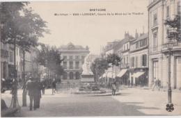 Bv - Cpa LORIENT - Cours De La Bôve Sur Le Théâtre (MTIL) - Lorient