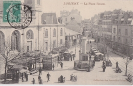 Bv - Cpa LORIENT - La Place Bisson (Coll. Nouvelles Galeries) - Lorient