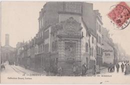 Bv - Cpa LORIENT - Fontaine De Neptune - Rues Paul Bert Et Du Morbihan - Lorient