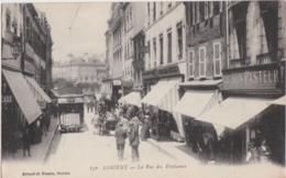 Bv - Cpa LORIENT - La Rue Des Fontaines - Lorient