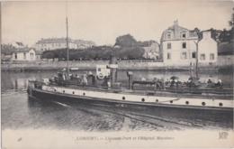 Bv - Cpa LORIENT - L'Avant Port Et L'Hôpital Maritime - Lorient