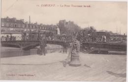 Bv - Cpa LORIENT - Le Pont Tournant Fermé (Paris Morbihan) - Lorient