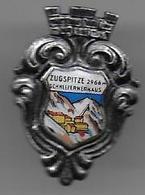 Allemagne - Insigne émaillé ZUGSPITZE  SCHNEEFERNERHAUS - Sports D'hiver