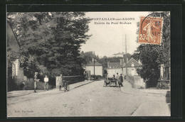 CPA Pontailler-sur-Saone, Entree Du Pont St-Jean - Non Classificati