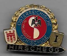 Autriche - Insigne HIRSCHEGG  SCHISCHULE - Sports D'hiver