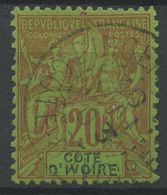 Côte D'Ivoire N 7 (o) - Costa De Marfil (1892-1944)