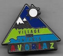 AVORIAZ  Village Des Enfants - Insigne Decat - Sports D'hiver