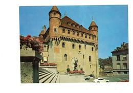 Cpm - Suisse - LAUSANNE - Chateau St-Maire - Monument Voiture Porsche - Cadran Solaire - - VD Vaud