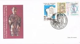 35712. Carta Exposicion RIPOLL (Gerona) 1999. Milenario Del PAPA SILVESTRE - 1931-Hoy: 2ª República - ... Juan Carlos I