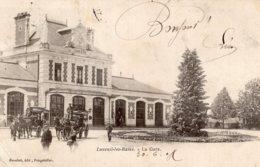 S4111 Cpa 70 Luxeuil Les Bains - La Gare - Luxeuil Les Bains