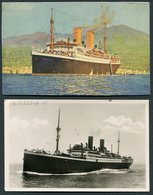 "2 X Norddeutscher Lloyd Bremen ""Sierra Cordoba"" Postcards. NDL Ship, Arctic Circle - Steamers"