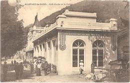 Dépt 38 - ALLEVARD-LES-BAINS - Café Glacier Et Le Casino - (V. De Buisson, Photo) - Allevard
