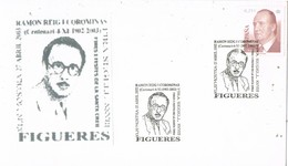 35714. Carta Exposicion FIGUERAS (Gerona) 2003. RAMON REIG I COROMINAS, Pintor Catedratico, Arquitecto - 1931-Hoy: 2ª República - ... Juan Carlos I