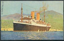 "Norddeutscher Lloyd Bremen ""Sierra Cordoba"" Postcard. NDL Ship, Arctic Circle - Steamers"