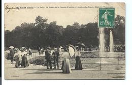 SAINT-CLOUD - Parc - Bassin Grande Cascade - Animée (1907) - VENTE DIRECTE X - Saint Cloud