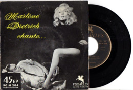 FRENCH EP MARLENE DIETRICH - 1958 - B.O.F. TEMOINS A CHARGE - PHOTO RECTO DU FILM AVEC TYRONE POWER - TB ETAT - - Musica Di Film