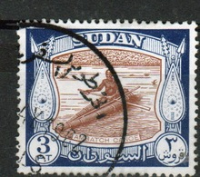 Sudan 1951 Single 3p Stamp From The Definitive Set. - Soudan (...-1951)