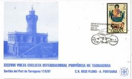 35715. Tarjeta TARRAGONA 1997. Volta Ciclista Port Tarragona. Ciclismo - 1931-Hoy: 2ª República - ... Juan Carlos I