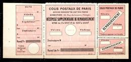 France Colis Postaux Pour Paris Maury N° 52 Neuf ** MNH. TB. A Saisir! - Pacchi Postali