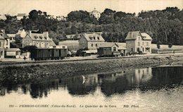 PERROS-GUIREC Côtes Du Nord Le Quartier De La Gare.  Francia. France. - Perros-Guirec