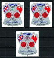 Tonga Nº Servicio Aéreo-114/16 Nuevo - Tonga (1970-...)