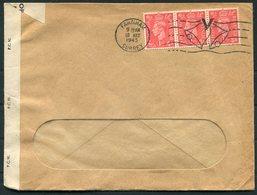 "1945 GB Farnham ""Victory"" Machine Cancel, 3d Rate Censor Cover - 1902-1951 (Rois)"