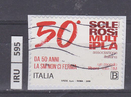 ITALIA REPUBBLICA    2018Associazione Sclerosi Multipla, Usato - 6. 1946-.. República