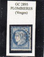 Vosges - N° 60C Obl GC 2895 Plombières - 1871-1875 Cérès