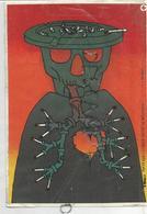 Le Tabac T'abat. Squelette, Cendrier Et Poumons à Cigarettes. - Santé