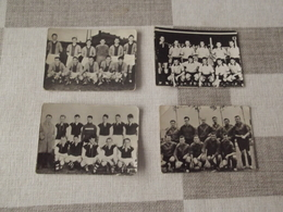 LOT Van 4 FOTO'S !! (4 X 6) Voetbalploegen - AARSCHOT - MONTEGNEE- BERCHEM - EEKLO - Football