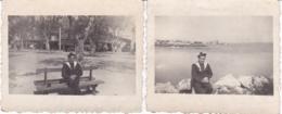 BOUCHES DU RHONE ETANGE DE BERRE SUITE DE DEUX PHOTOS MARIN 1941 - Luoghi