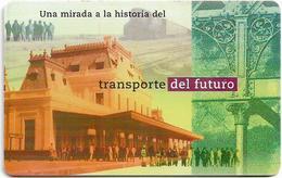 Argentina - Telefónica - Railways, Estación San Luis, Chip Gem1A Symmetric Black, 03.1998, 20U, 100.000ex, Used - Argentina