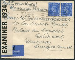 1941 GB, Golders Green, Red Cross Postal Message Scheme Censor Cover - Geneva Switzerland - 1902-1951 (Rois)